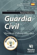 guardia civil: escala de cabos y guardias: temario (vol. 2) 9788417287016