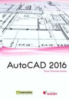 autocad 2016 �scar carranza zavala 9788426723116
