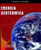 energia geotermica lluis jutglar i banyeras jaume pous 9788432910616