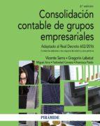 consolidacion contable de grupos empresariales (2ª ed.) 9788436837216