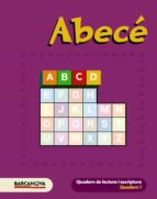 quadern abc 1 baleares / catalunya-9788448922016