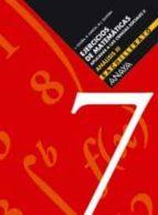 analisis iii 2º bachillerato ejercicios de matematicas aplicadas a las ciencias sociales cuadernillo nº 7 9788466722216