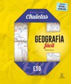 El libro de Geografia facil para la eso (chuletas) autor NIEVES BUENO TXT!