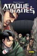 ataque de los titanes 05-hajime isayama-9788467912616