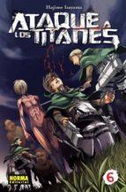 ataque a los titanes 06-hajime isayama-9788467914016