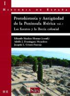 protohistoria y antiguedad de la peninsula ibérica eduardo sanchez moreno 9788477371816