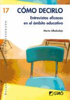 cómo decirlo. (ebook) marta albaladejo 9788499803845