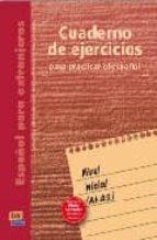 español para extranjeros, nivel inicial. cuaderno de ejercicios-9788489756816