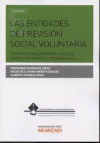 El libro de Las entidades de previsión social voluntaria autor FERNANDO MANRIQUE LOPEZ DOC!