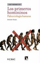 LOS PRIMEROS HOMININOS. PALEONTOLOGÍA HUMANA (EBOOK)