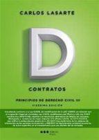 principios de derecho civil tomo iii: contratos (20ª edicion) carlos lasarte alvarez 9788491235316