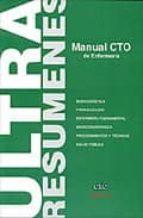 manual cto de enfermeria: ultraresumenes-9788492523016