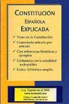 constitucion española explicada 9788493486716