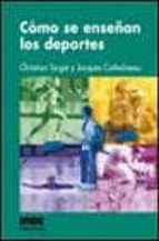 como se enseñan los deportes jacques cathelineau christian target 9788495114716