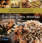 las mejores recetas para hacer pan-josee fiset-9788496054516