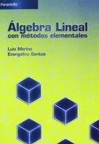 algebra lineal con metodos elementales-9788497324816