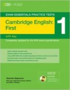 exam essentials: cambridge first practice tests 1 w/key + dvd rom charles osbourne 9781285744926