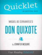 quicklet on miguel de cervantes' don quixote (ebook)-jennifer mcguire-9781484006726