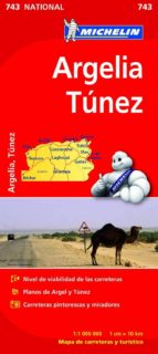 argelia   tunez 2012 (1:1000000) (ref. 743) (mapa national) 9782067172326