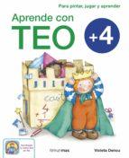aprende con teo (+4)-violeta denou-9788408125426