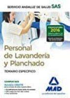 personal de lavandería y planchado del servicio andaluz de salud. 9788414200926