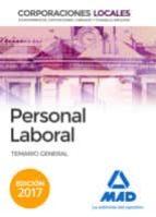 PERSONAL LABORAL DE CORPORACIONES LOCALES: TEMARIO GENERAL