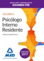 manual para la preparación del examen pir. volumen 2 9788414208526