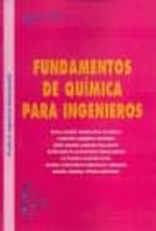 fundamentos de quimica para ingenieros-rosa maria masegosa fanego-9788415793526