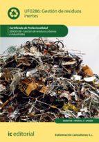 gestión de residuos inertes. seag0108 (ebook)-s.l. euformación consultores-9788417343026