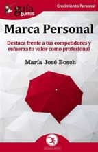 guíaburros: marca personal (ebook) maria jose bosch 9788417681326