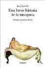 una breve historia de la misoginia anna ed. caballe 9788426415226
