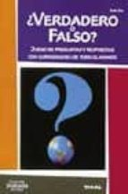 ¿verdadero o falso?: juego de preguntas y respuestas con curiosid ades de todo el mundo-rene zey-9788430538126