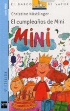 el cumpleaños de mini-christine nostlinger-9788434893726