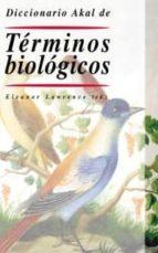 diccionario akal de terminos biologicos 9788446015826