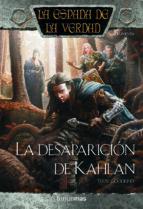 la desaparicion de kahlan: la espada de la verdad nº 17 terry goodkind 9788448038526