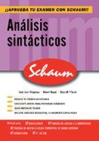 analisis sintacticos (schaum selectividad) jose luis vilaplana 9788448198626