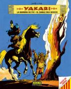 yakari (vol. 10): la barrera de foc. el diable dels boscos-9788467908626