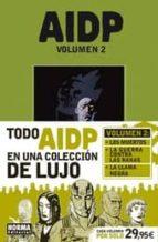 aidp. integral 2 (los muertos + la guerra contra las ranas + la l lama negra)-mike mignola-9788467910926