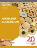 AUXILIAR EDUCADOR. TEMARIO