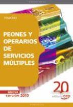 peones y operarios de servicios multiples: temario-9788468106526