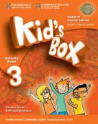 kid s box ess 3 2ed updated wb/cd rom/hm booklet 9788490369326