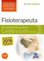 fisioterapeuta del servicio de salud de castilla y león (sacyl) test 9788490939826