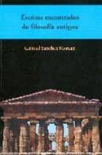 Escritos encontrados de filosofia antigua ePUB iBook PDF por Gabriel sanchez moreno