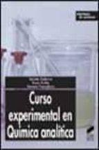 curso experimental en quimica analitica-jacinto guiteras-roser rubio-gemma fonrodona-9788497560726