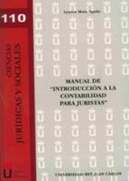 manual de introduccion a la contabilidad para juristas leonor mora agudo 9788498494426