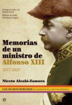 memorias de un ministro de alfonso xiii niceto alcala zamora y torres 9788499708126