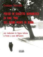 POESIE IN DIALETTO ROMANESCO, DI FINE 900, DEL RIONE MONTI DI ROMA