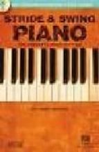 stride & swing piano: the complete guide with cd john valerio 9780634046636