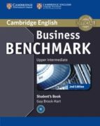 business benchmark (2nd edition) upper intermediate. bulats stude nt´s book guy brook hart norman whitby 9781107639836