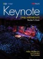 keynote upper intermediate sb with dvd rom 9781305399136
